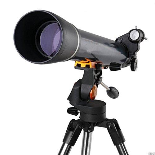 LIHONG TELESCOPIO ASTRONOMICO ALTA TASA HD-REFRACCION   CAJA DE ALUMINIO TELESCOPIO NUEVO CLASICO DE LA MODA