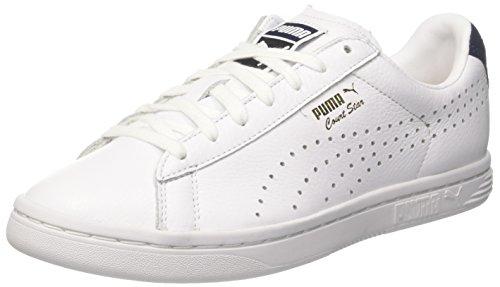Puma Unisex-Erwachsene Court Star NM Sneaker, Weiß White-Peacoat, 39 EU