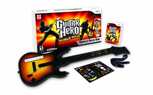 "Pack ""Guitar Hero: World Tour"" con Guitarra [Nintendo Wii] [Producto Importado]"