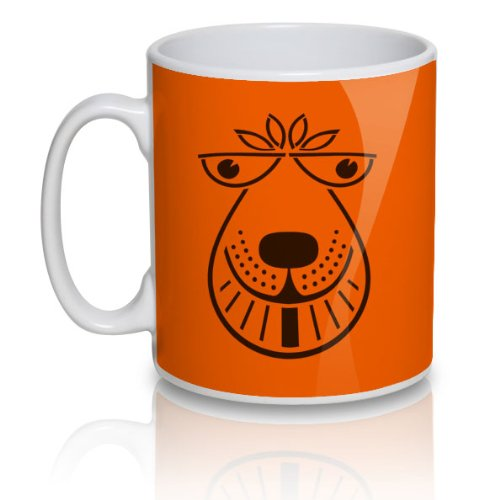 Spacehopper Face Retro 70s, 80s Mug