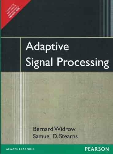 Adaptive Signal Processing, 1e