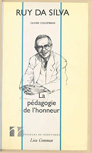 La Pédagogie de l'honneur pdf, epub