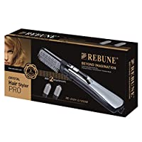 Rebune Hair Styler 3 in 1 Hair Style 1200 Watts, Black, RE-2024-2