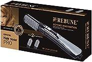 Rebune Hair Styler 3 in 1 Hair Style 1200 Watts, Black, RE-2024-2
