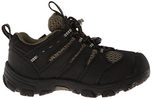 Keen KOVEN LOW WP C Unisex-Kinder Trekking- & Wanderhalbschuhe Schwarz (Black/Burnt Olive)
