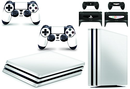 giZmoZ n gadgetZ GNG PS4 PRO Konsolen-Gehäuseaufkleber, Motiv: Weib, inklusive 2er-Set mit Aufklebern für Controller -