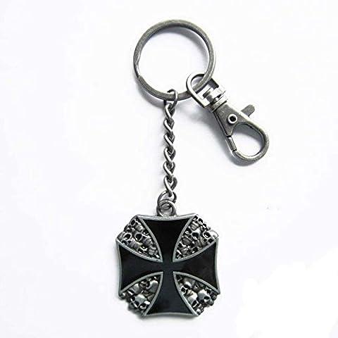 Tür Schlüssel Kreuz von Malta Chopper aus Metall