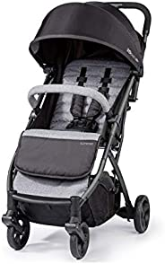 Summer Infant 3DPac Stroller, Lightweight and Compact Carseat Adaptable Design with Convenient One-Hand Fold,