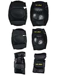 Van Allen 17056 - Set de patinaje sobre ruedas, color negro