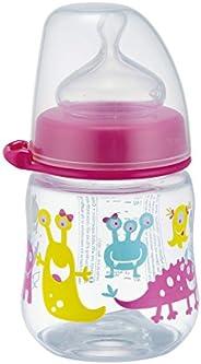 nip Wide Neck Pp Bottle, 150 ml - Monster Pink