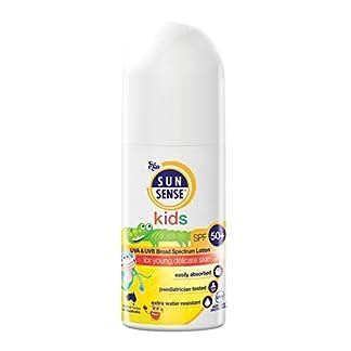 Protector solar para niños Sunsense con roll on, FPS 50; 50ml, paquete de 2 unidades