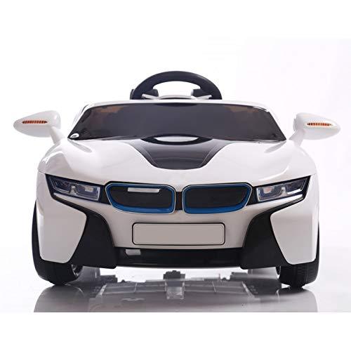 ATAA CARS Super 8 Sport Batterie 12v - Blanc - Voiture électrique Enfants avec télécommande