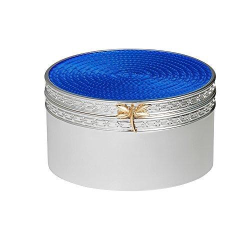 vera-wang-wedgwood-en-argent-plaque-avec-libellule-love-treasures-coffret-cadeau-bleu