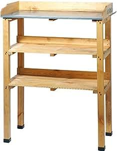 Dobar 29150FSC - Grande tavolo da giardino in legno di pino impregnato FSC, 76 x 37 x 102 cm