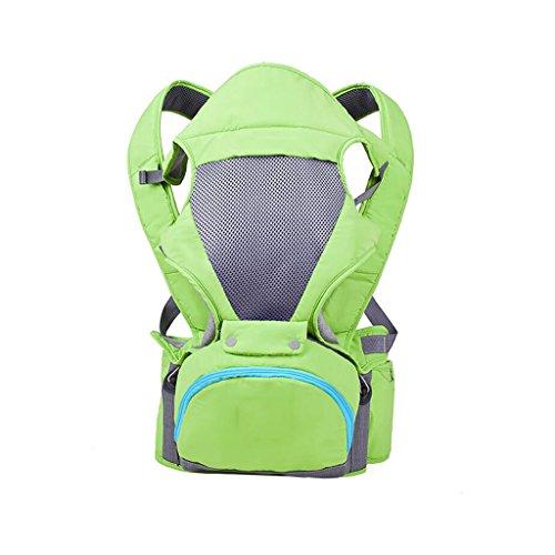 ZHAOJING Babytrage Schulter multifunktionale Baby vor dem Halten lumbalen Bank Baby Strap einzigen Hocker atmungsaktive Kinder mit vier Jahreszeiten ( Farbe : C ) (Riemen Schulter Reibung Schnalle)