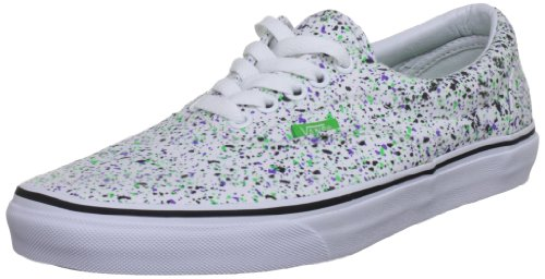 Vans  Era, baskets - skateboard mixte adulte Blanc - Weiß (Overspray/True White)
