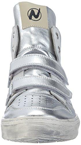 bianco9153 Tênis Velcro Meninas De argento Lou Prata Do Naturino wCOqvnTn