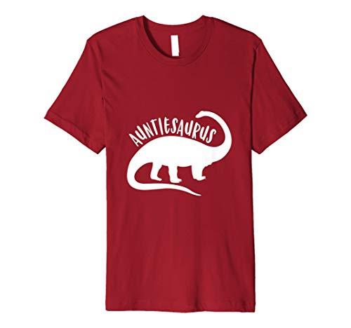 Auntiesaurus Dinosaur Shirt Pregnancy Announcement Aunt Gift