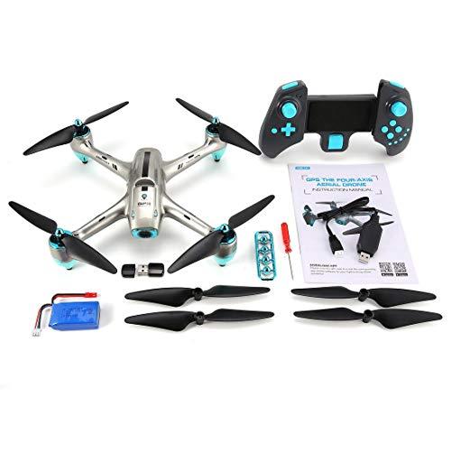 drf8090w-eop 6957G 2.4G GPS 720P HD Telecamera grandangolare FPV Drone RC Quadcopter Seguimi