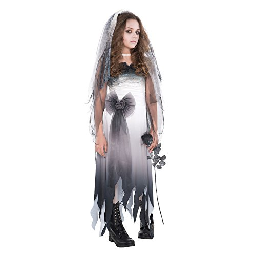 Abendkleid - Graveyard Bride - Teenager - 14-14 Jahre - (Teenager Kostüme)