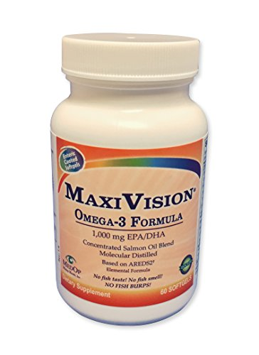 MaxiVision Omega - 3 fish oil , essential fatty acids,