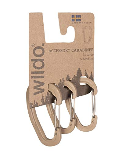 Accessorx Carabiner Set WILDO® coyote