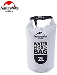 Naturehike Rafting Bag Nautica Bolsas Estancas Waterproof Bag Bolsa Seca (White)
