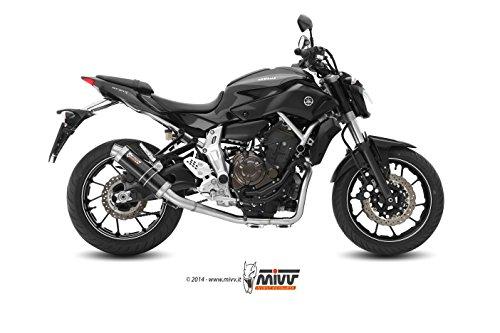MIVV-Sport-GP-2-in-1-Komplettanlage-ESD-Carbon-Yamaha-MT-07-Bj-2014