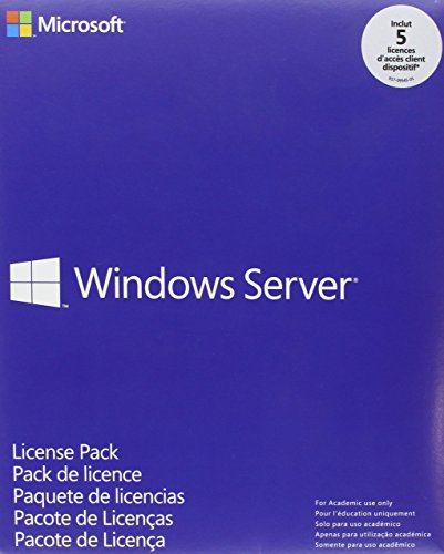 Microsoft Windows Server CAL 2012 (Pack 5 Licenses Device CAL Device CAL)
