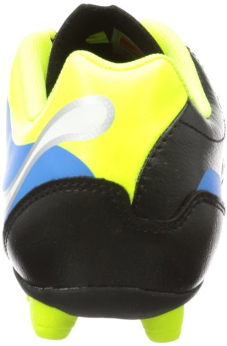 Puma PowerCat 4 r HG Jr 102811, Scarpe da calcio unisex bambino Nero (Schwarz (black-fluo yellow-white-brilliant blue 03))