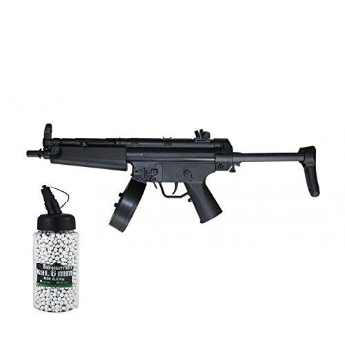 SET: Softair G8DS® Gewehr D95 mit Schiebeschaft und Trommelmagazin AEG max. 0,5 Joule 6mm + G8DS® Softair Munition BIO BBs Premium Selection 2000 Stück 0,20 g 6mm