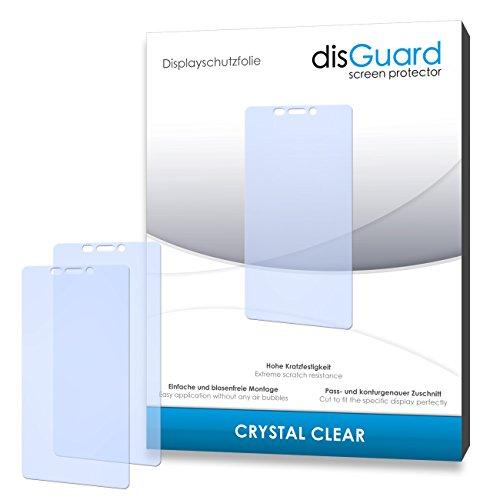 disGuard® Bildschirmschutzfolie [Crystal Clear] kompatibel mit Gionee Elife S5.1 [4 Stück] Kristallklar, Transparent, Unsichtbar, Extrem Kratzfest, Anti-Fingerabdruck - Panzerglas Folie, Schutzfolie