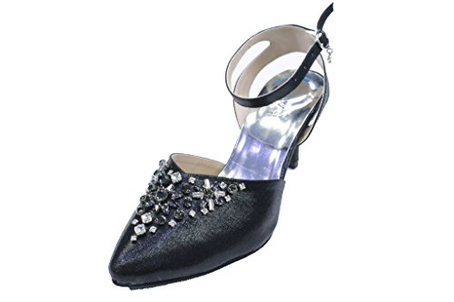 Wear & Walk UK , Sandales pour femme Noir