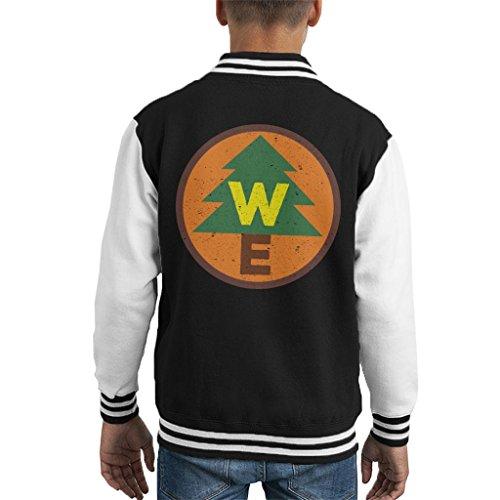 erness Explorer Badge Kid's Varsity Jacket ()