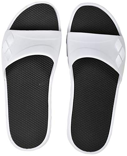 arena Damen Badesandale Watergrip Aqua Schuhe, Weiß (White-Black 159), 41 EU