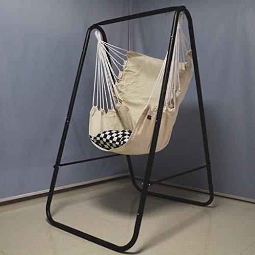 aukel Halterung schwingen innen Kinder hängematte Erwachsenen Haushalt faul babybett Balkon hängenden Korb hängemattenregal,E ()