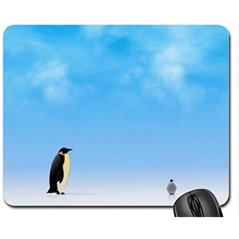 Beautiful Red Parrot mouse pad, Mousepad (Uccelli Mouse Pad) (Animal Red Parrot Uccello)
