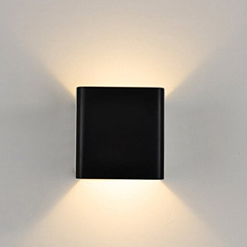 Topmo applique da parete a led bianco caldo 2700 lampada for Applique da parete moderni