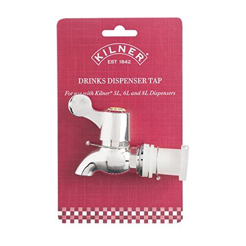 Kilner Getränkespender Ersatz Wasserhahn – Für Verwendung Mit Getränke Spender von Kilner 5,6 und 8L (Wasserspender Wasserhahn Kunststoff)