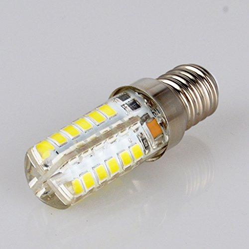 ASL E14 Spiral Mund Lichtquelle, Led Mais Birne Rauch Maschine Lichter Nähmaschine Lichter Salz Bergmann Dimmable Lampe Perlen Weiß Licht Warm Licht 3-5w (Geschenk png) ( Farbe : Weißes Licht-5W )