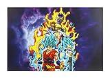Clairefontaine 812779C - Un Sous-main Dragon Ball Super 60x40 cm, Resurrection