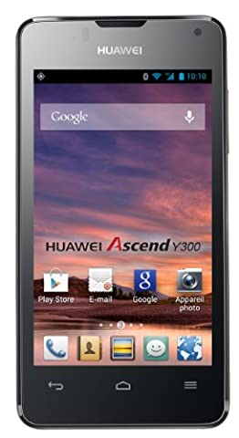 Huawei Ascend Y300 Smartphone (10,2 cm (4,0 Zoll) Touchscreen, 5