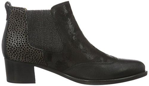 Gabor Shoes Basic, Stivaletti Donna Multicolore (Schwarz/Zinn Ldf)