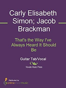 That's the Way I've Always Heard It Should Be eBook: Carly