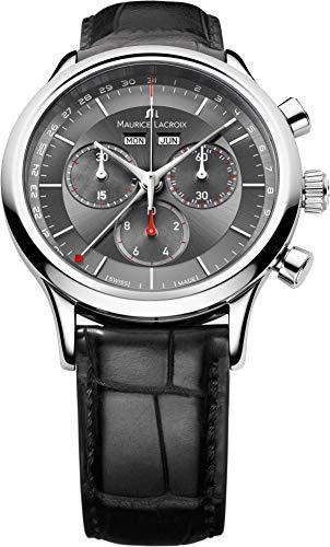 Maurice Lacroix Les Classiques Chronographe LC1228-SS001-330 Cronografo...