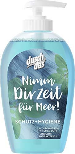 Duschdas Flüssigseife, für hygienisch saubere Hände Schutz & Hygiene mit antibakterieller Wirkung (6 x 250 ml)