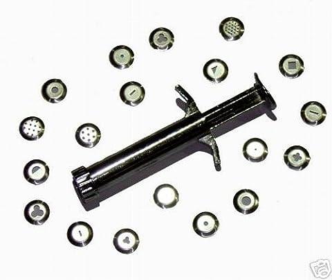 Sculpting Lehm Extruder Syringe Gun Werkzeug mit 18 Discs