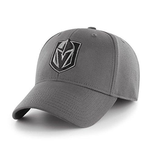 NHL Comer OTS Center Stretch Fit Hat, Unisex - Erwachsene, NHL Comer OTS Center Stretch Fit Hat, anthrazit, Medium/Large Clean Stretch-cap