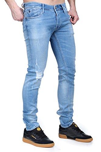 Le Temps Des Cerises - Jeans Le Temps Des Cerises 711 Basic WT383 Bleu
