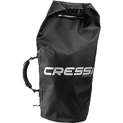 Cressi Tasche und Rucksack Dry Bag - Bolsa de deporte para buceo (resistente al agua), color negro, talla 20 l